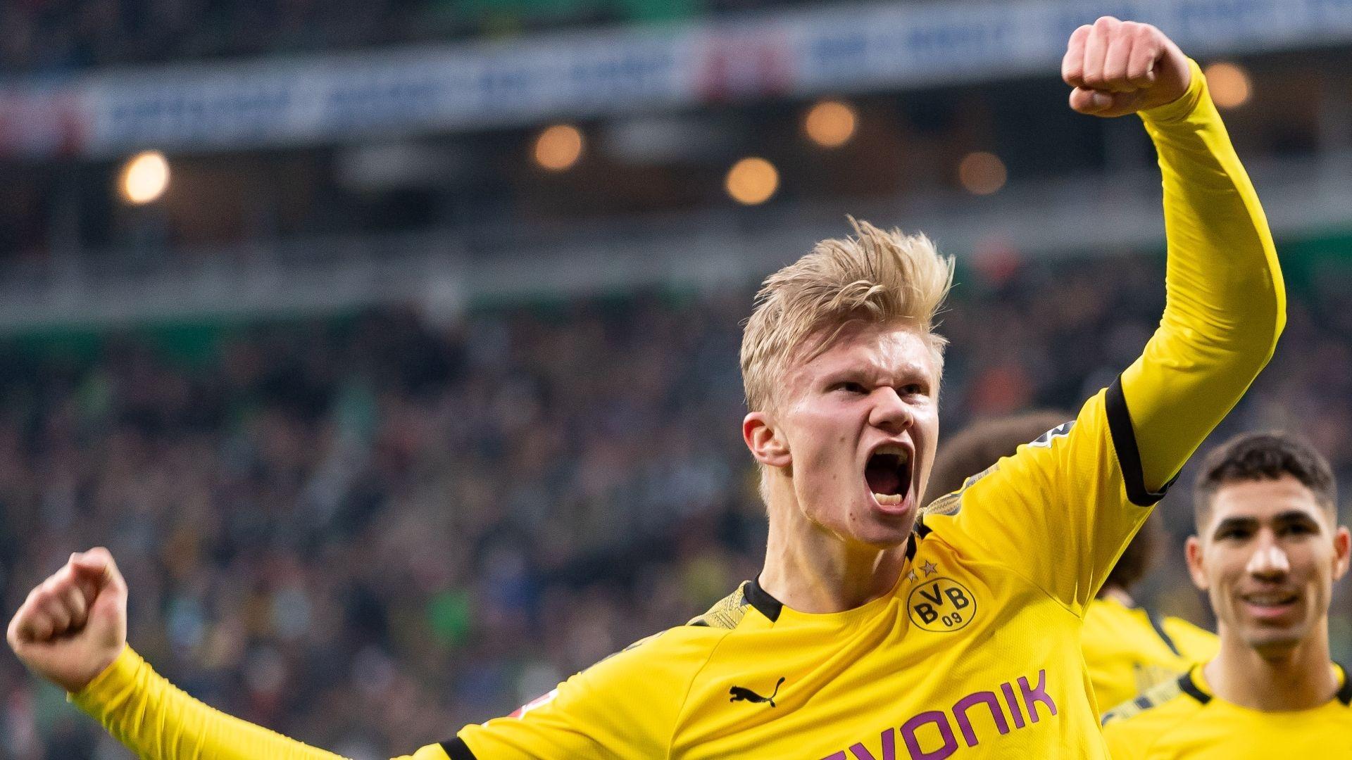 Erling Haaland scores again as Dortmund win at Werder Bremen