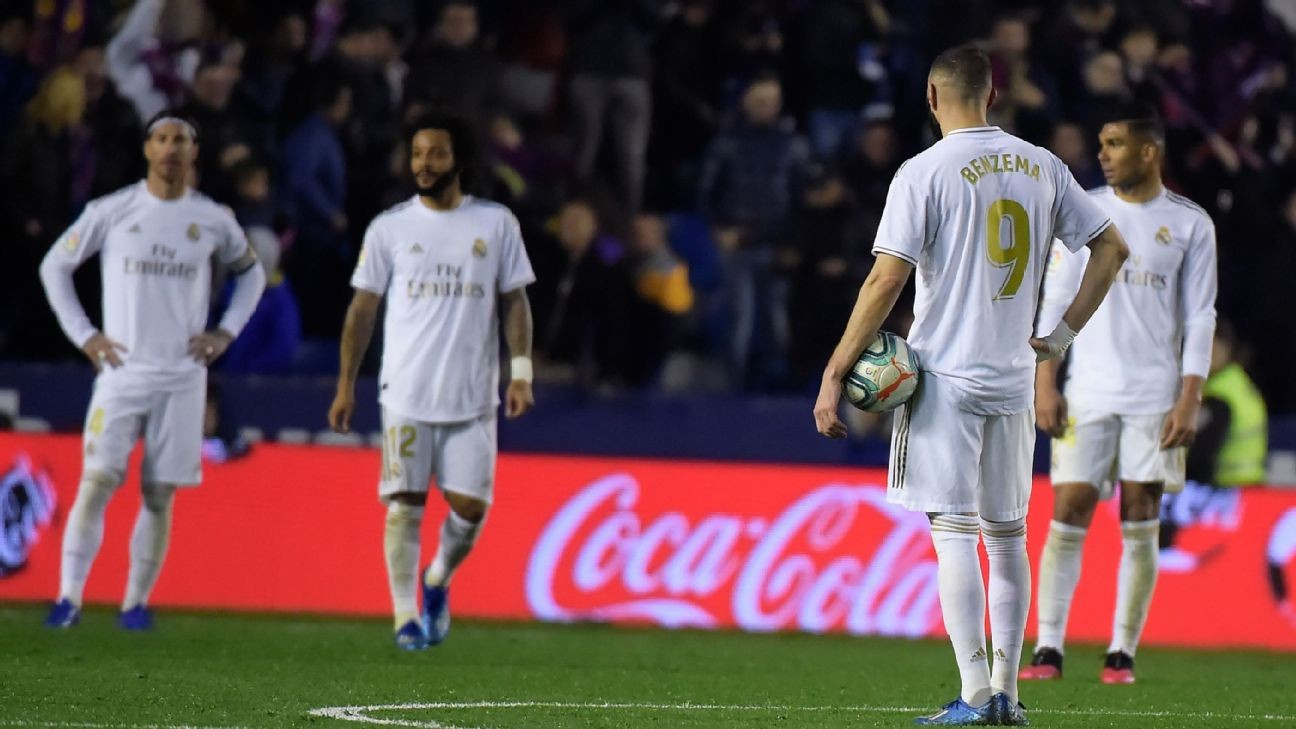 Hazard injured, Benzema 6/10 as Madrid surrender top spot in La Liga