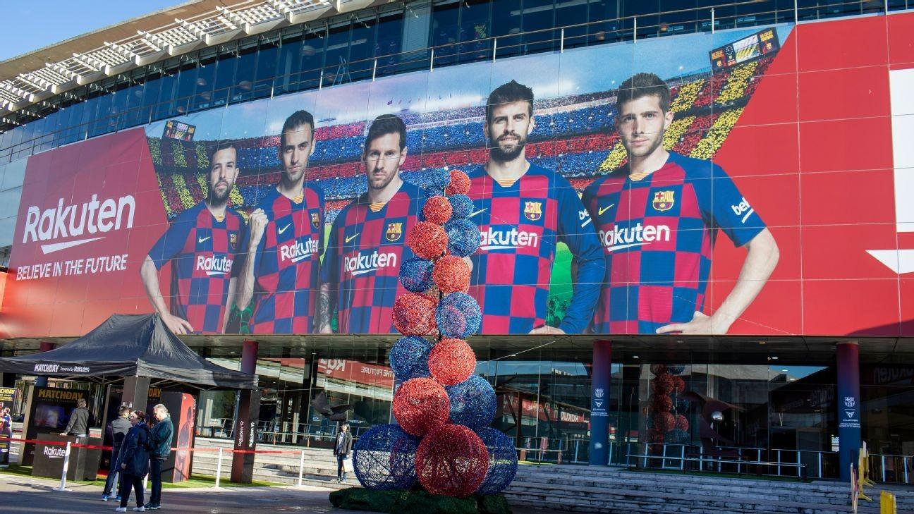 Barcelona stars to have coronavirus checks ahead of Napoli clash - sources