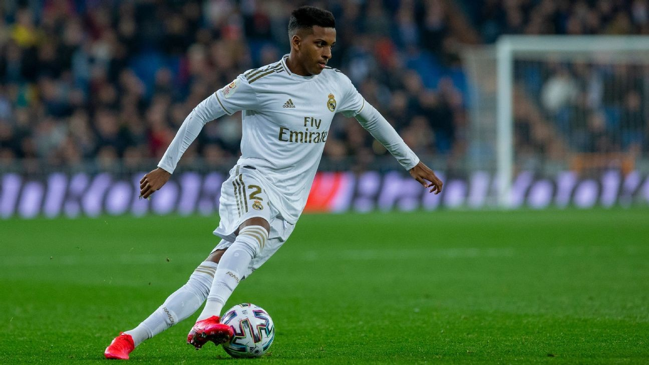 Rodrygo to miss 'Clasico' for overzealous celebration in reserve game