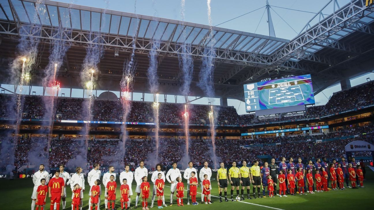 FIFA urged to ban staging of league games in other countries