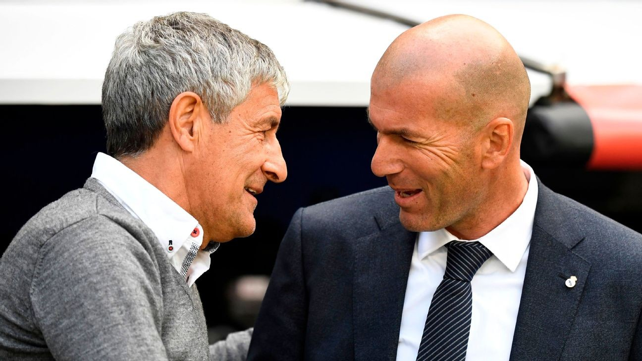 Clasico 'much more important for Real Madrid' - Setien
