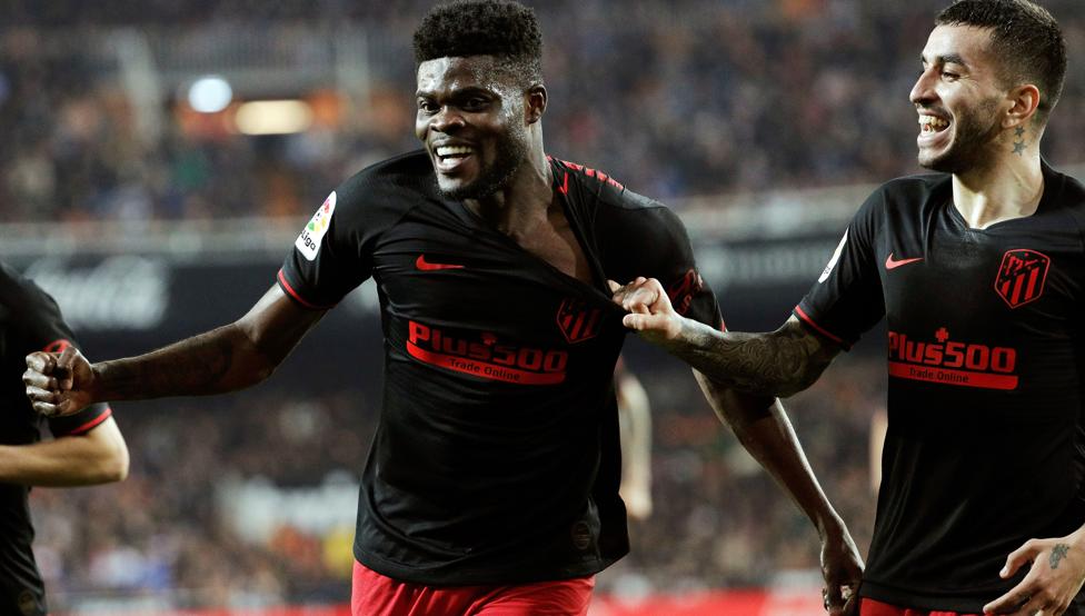 Ghana's Thomas Partey discloses new contract talks with Atlético Madrid