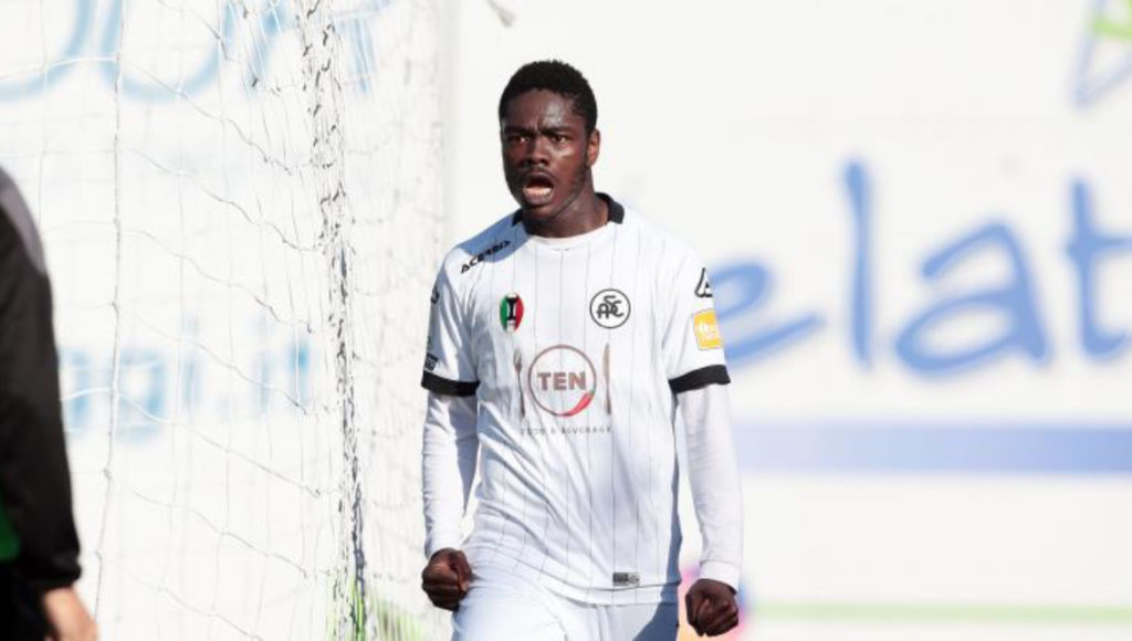 Spezia forward Emmanuel Gyasi commends work of health offficials amid coronavirus outbreak in Italy