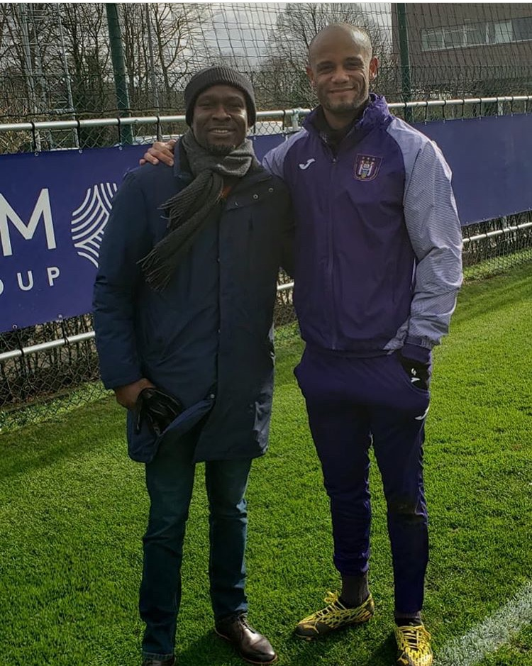 Ghana coach C.K Akonnor visits RSC Anderlecht training grounds