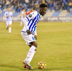 VIDEO: Winful Cobbina provides Ronaldinho-esque assist for KF Tirana in win against Kukesi in Albania