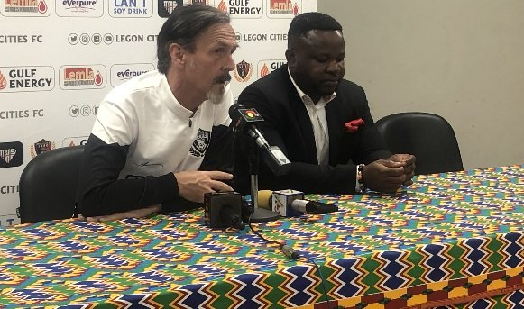 Legon Cities FC coach Goran Barjaktarevic eyes tricky battle against Inter Allies