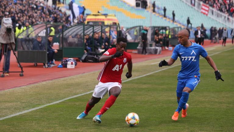 Ghanaian Edwin Gyasi happy to be back at CSKA Sofia
