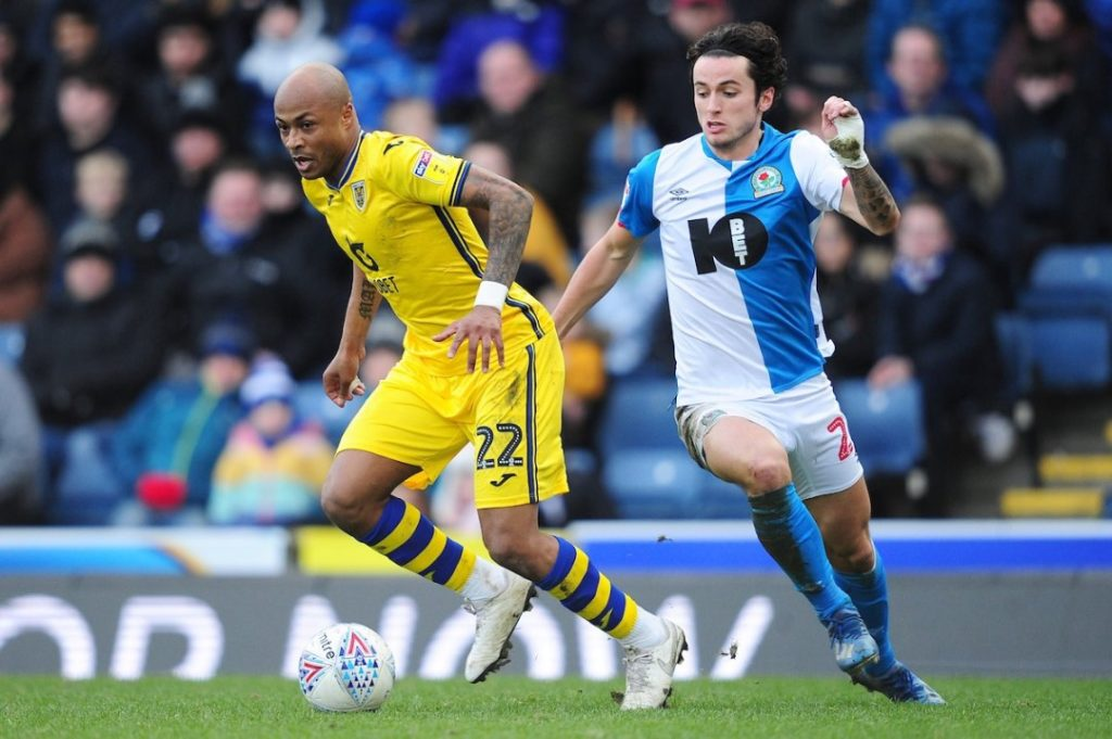 Video: André Ayew scores to earn point for Swansea City against Blackburn Rovers