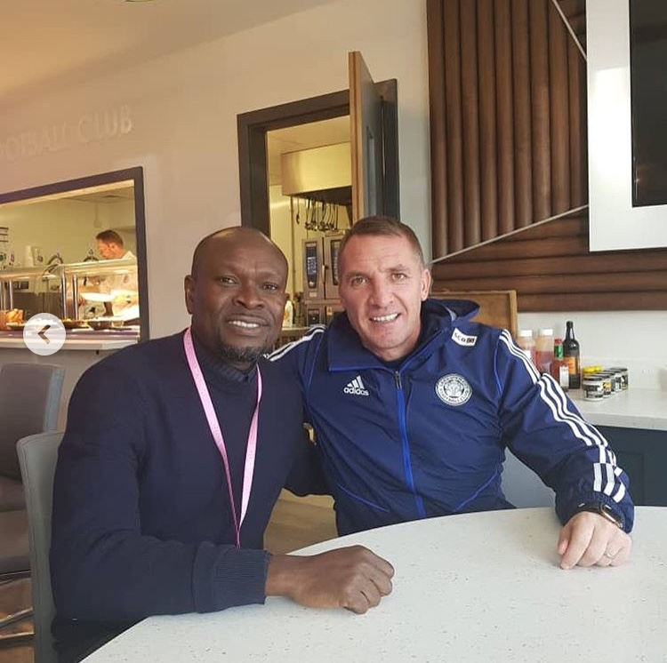 C.K Akonnor meets Brendan Rogers to discuss Daniel Amartey's situation at Leicester City