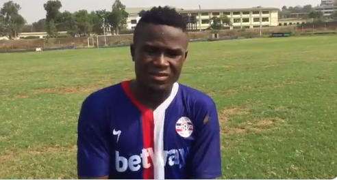 Liberty Professionals midfielder Abass Nuhu delighted to score first goal in big win against Aduana