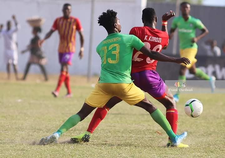 Aduana Stars defender Caleb Amankwah bags second MOTM award against Hearts