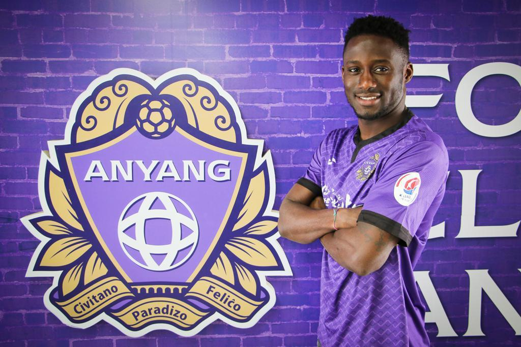 EXCLUSIVE: Maxwell Boadu Acosty joins South Korean side Anyang FC on a 3-year deal