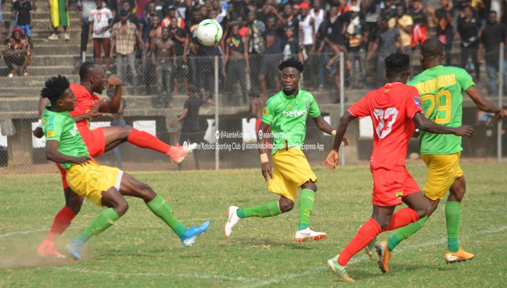 Three (3) times a Ghana Premier League fixture started with ten players