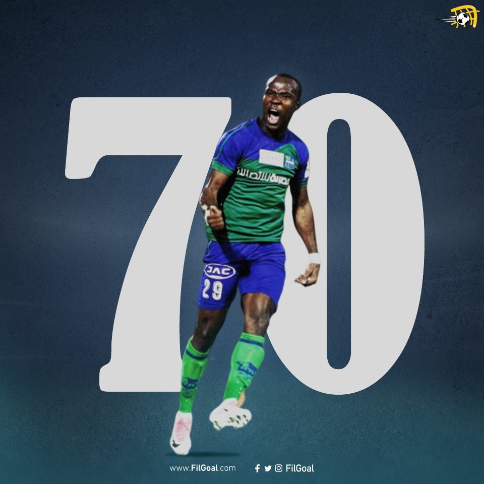 John Antwi scores in FC Pyramids win to tally 70 league goals in Egyptian top-flight