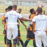 Legon Cities forwad Benjamin Okine happy to score in draw against King Faisal