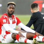 Richmond Boakye Yiadom ruled out of Red Star Belgrade's game against Vojvodina
