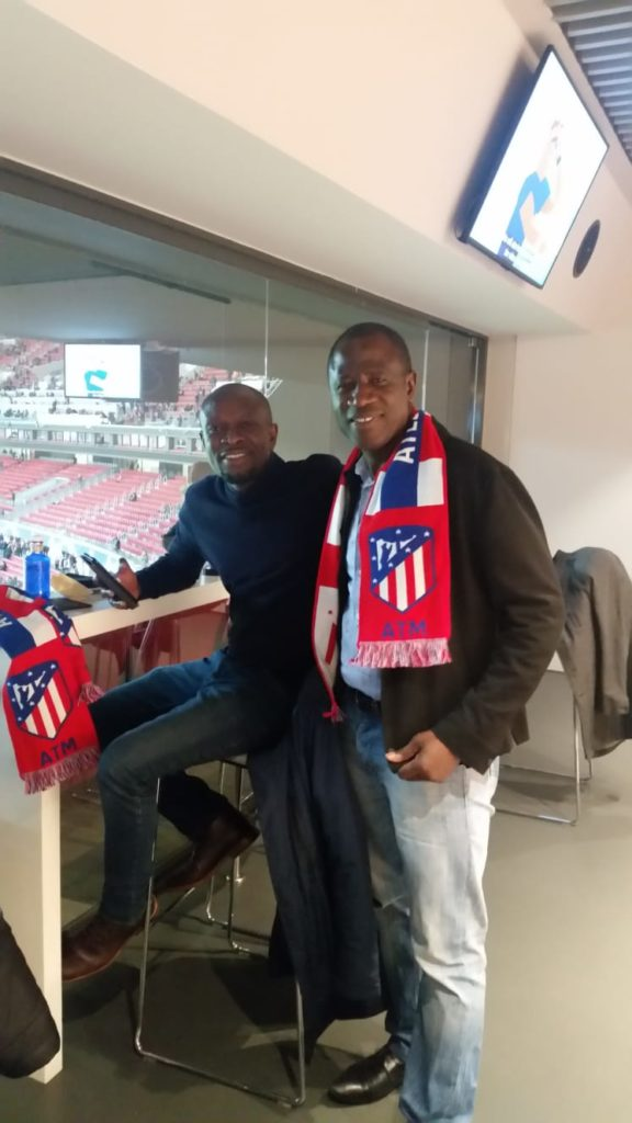 Ghana coach watches Thomas Partey excel as Atletico Madrid beat Liverpool in the UCL