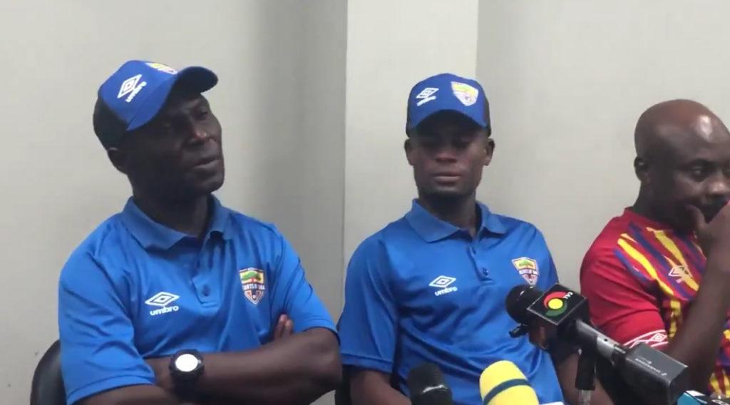 Hearts of Oak coach Edward Odoom rues draw with Aduana Stars in Dormaa