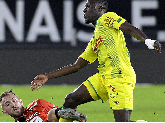 Dennis Appiah ruled out of Nantes clash against PSG
