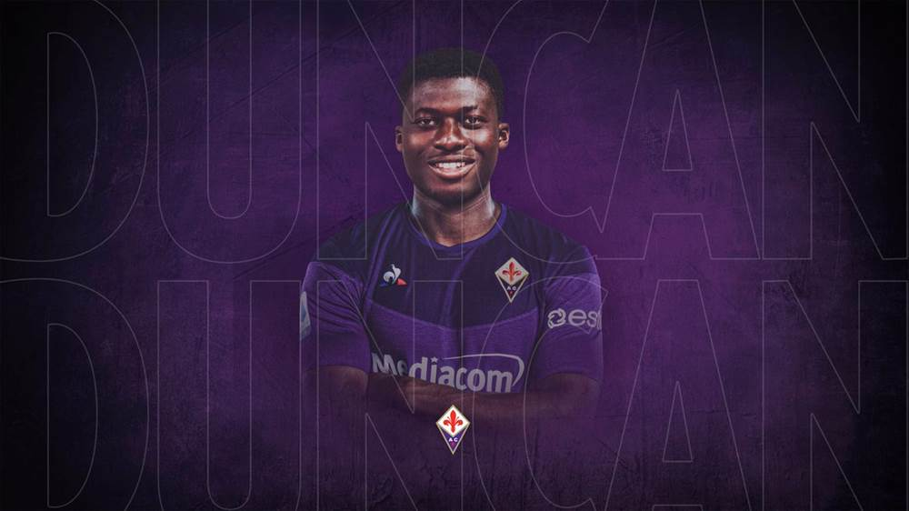 Alfred Duncan set to make Fiorentina debut against Sampdoria