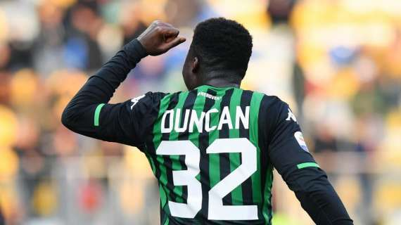 Alfred Duncan sends farewell message to Sassuolo after Fiorentina switch