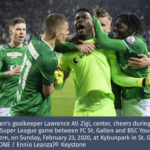 Goalkeeper Ati-Zigi denied match-winning penalty save as St Gallen hold Young Boys