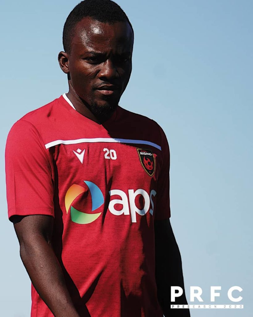 Ghana's Solomon Asante begins pre-season training with Phoenix Rising after failed moves