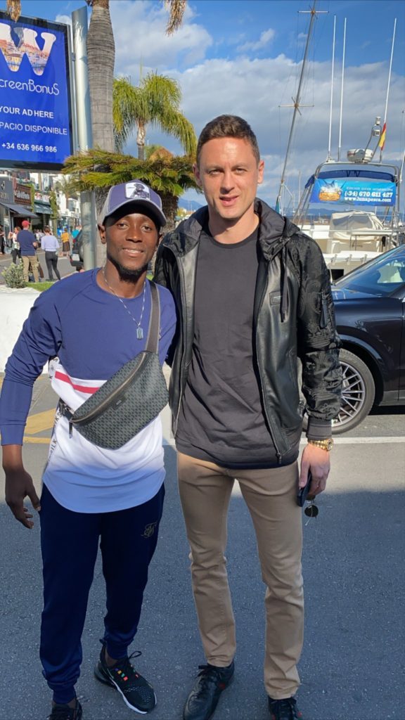 Emmanuel Boateng trains in Spain as Corona Virus suspends football in China