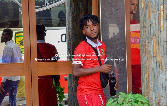 Asante Kotoko midfielder Maxwell Baakoh happy to make injury return