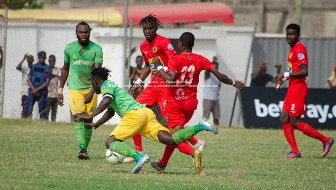 VIDEO: Watch Aduana Stars Samuel Bioh's last-gasp winner against Asante Kotoko