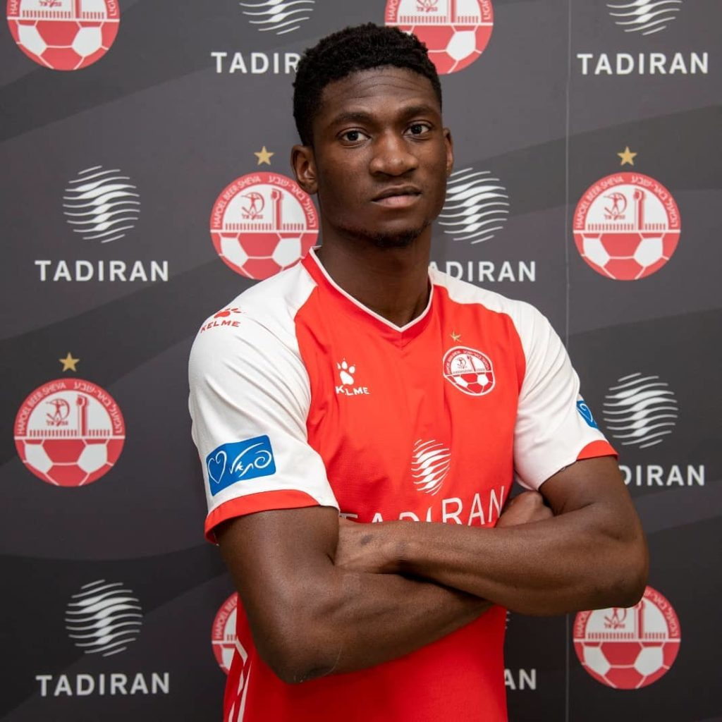 EXCLUSIVE: Ghanaian forward Elton Acolatse joins Israeli side Hapoel Beer-Sheeva