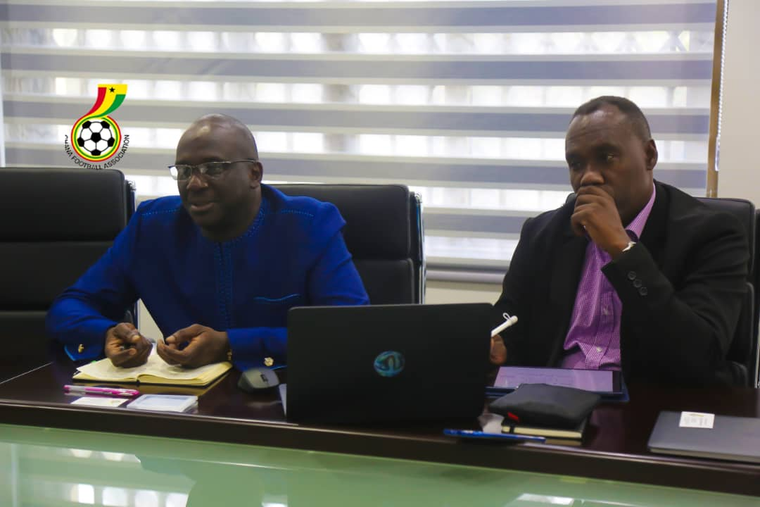 Two FIFA officials start three-day working visit at Ghana Football Association