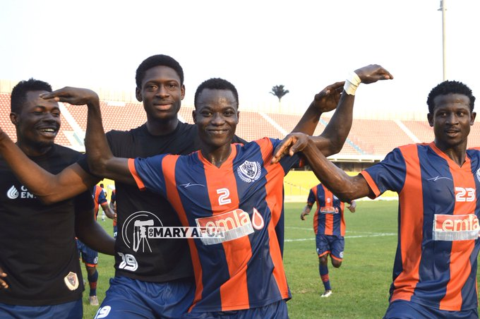2019/20 Ghana Premier League: Week 8 Match Report -Legon Cities 1-0 Elmina  Sharks