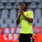 VIDEO: Supporter escorted out stadium after racially abusing Ghanaian Leroy Kwadwo