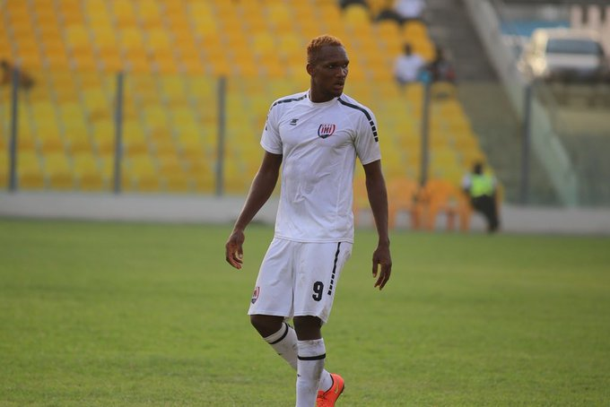 Inter Allies announce departure of striker Isaac Osae