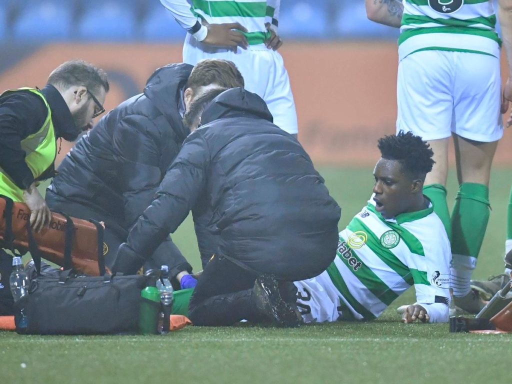 Celtic youngster Jeremie Frimpong nears injury return