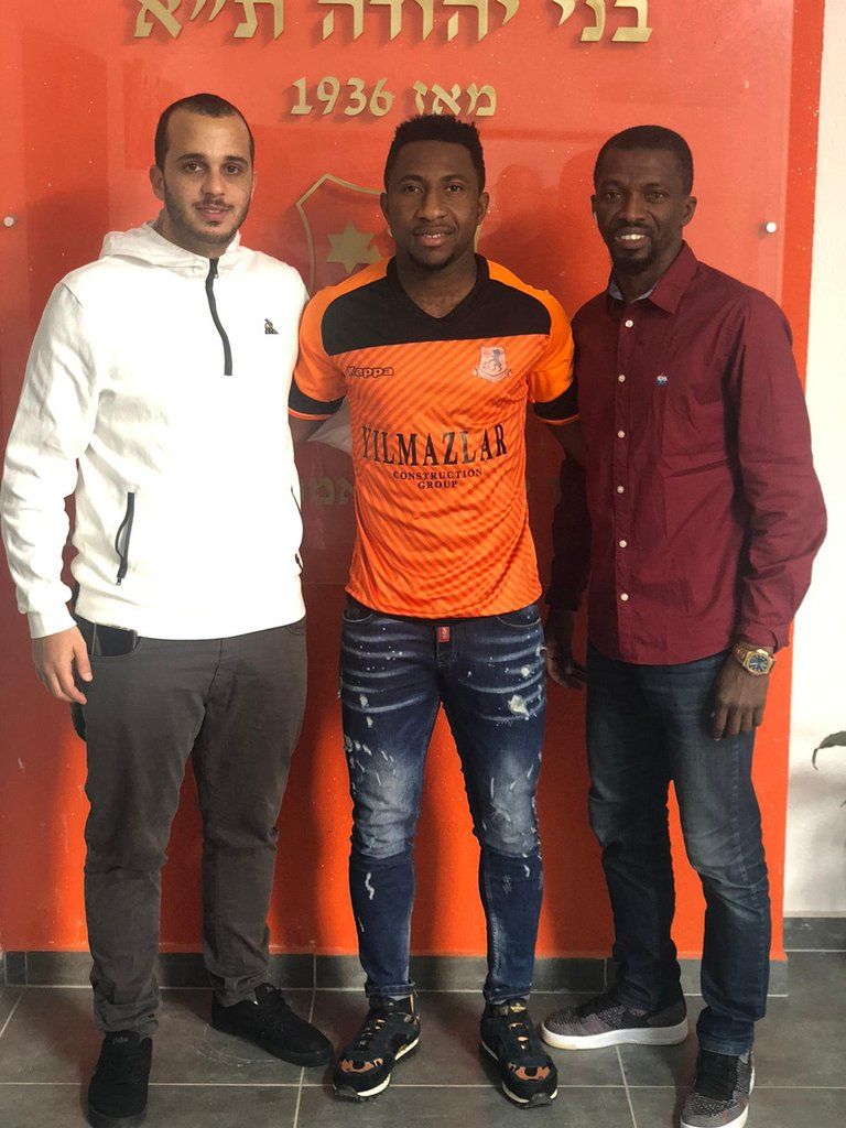 Ghanaian forward Joe Mensah completes move to Israeli side Bnei Yehuda FC