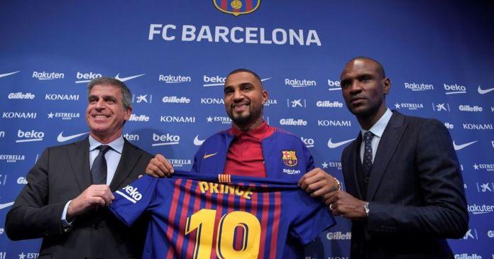 Former Barcelona VEEP reveals reason for signing K.P Boateng on loan last season