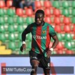 Siena midfielder Kingsley Boateng confident of victory against Albinoleffe