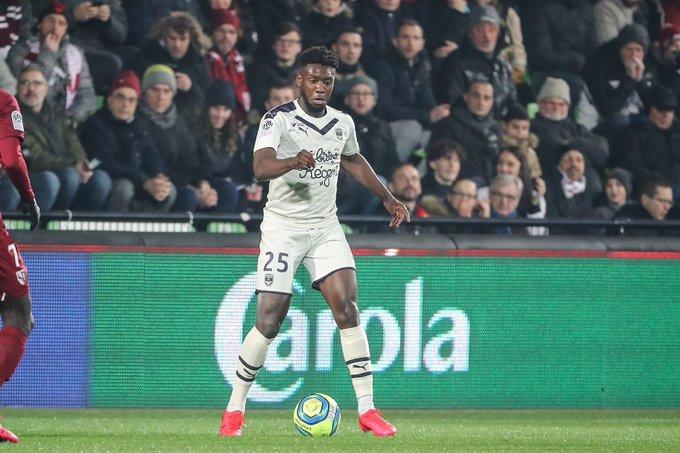 Bordeaux defender Enock Kwateng praises teammates in comeback win against Metz
