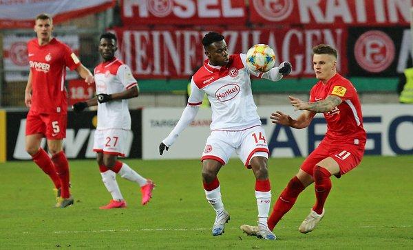 Fortuna Düsseldorf coach Uwe Rösler praises 'special kid' Kelvin Ofori