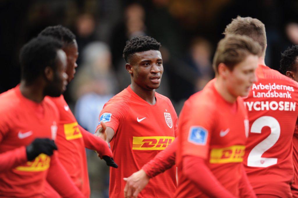 Video: Ghana prodigy Kudus on target as Nordsjælland rally to win in Denmark