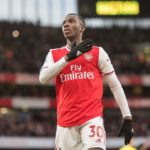 Arsenal forward Eddie Nketiah delighted by 'Great win' over Everton