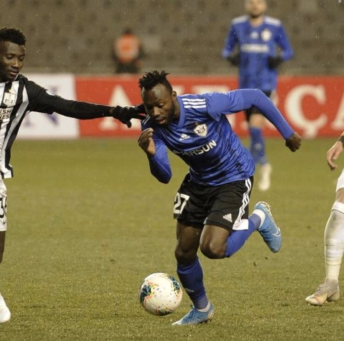 Kwabena Owusu delighted to make Qarabag debut