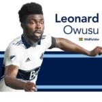 Midfielder Leonard Owusu arrives in Canada to start Vancouver Whitecaps career