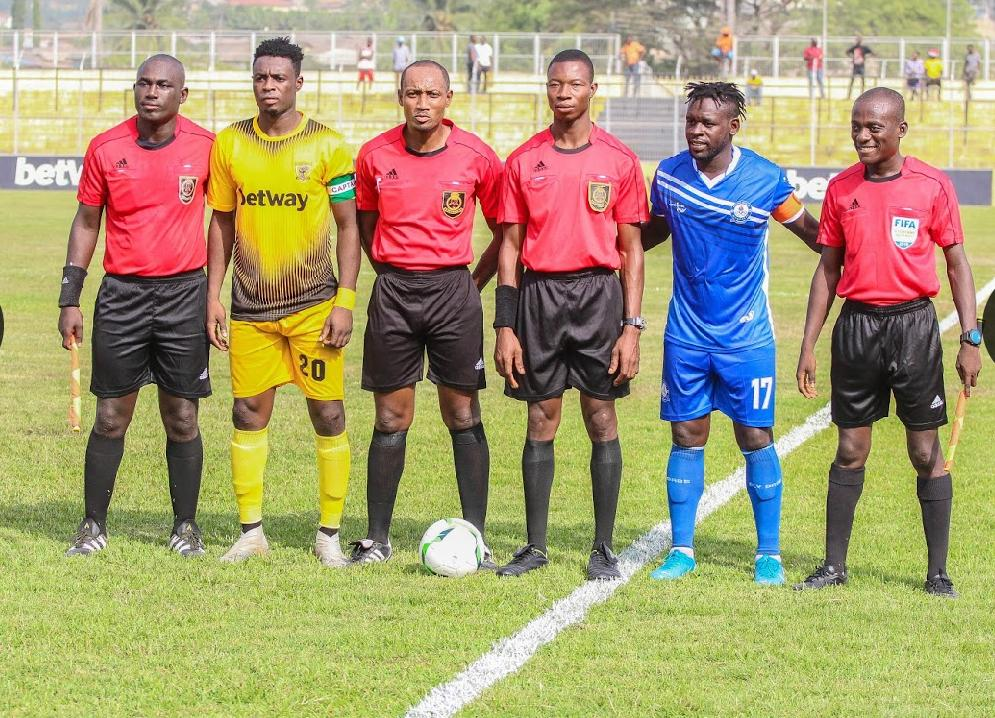 Match officials for GPL match day 9 games announced