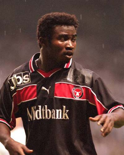 Today in History: Former Ghana striker Razak Pimpong joined Danish giants FC Midtjylland 20-years ago