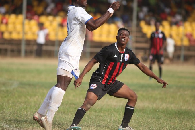 Inter Allies youngster Alex Aso 'enjoying' Ghana Premier League experience