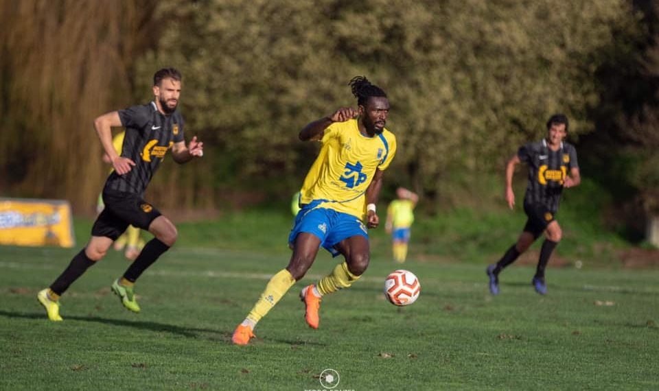 Ghanaian forward Sherrif Deo Sheriff Deo Mohammed eyes LigaPro qualification with FC Arouca in Portugal